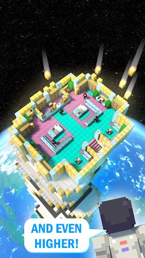 Tower Craft 3D - لعبة بناء من نوع ألعاب الخمول 4 تصوير الشاشة
