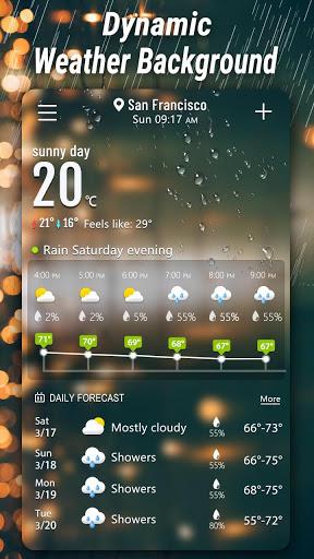 मौसम - Weather स्क्रीनशॉट 7