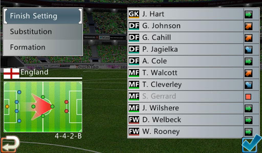 Winner Soccer Evolution 12 تصوير الشاشة