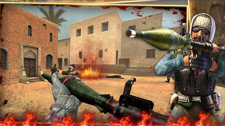 FPS Critical Strike War Attack screenshot 1