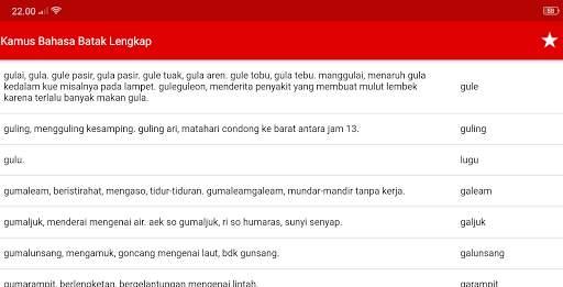 Kamus Bahasa Batak Indonesia Lengkap screenshot 10