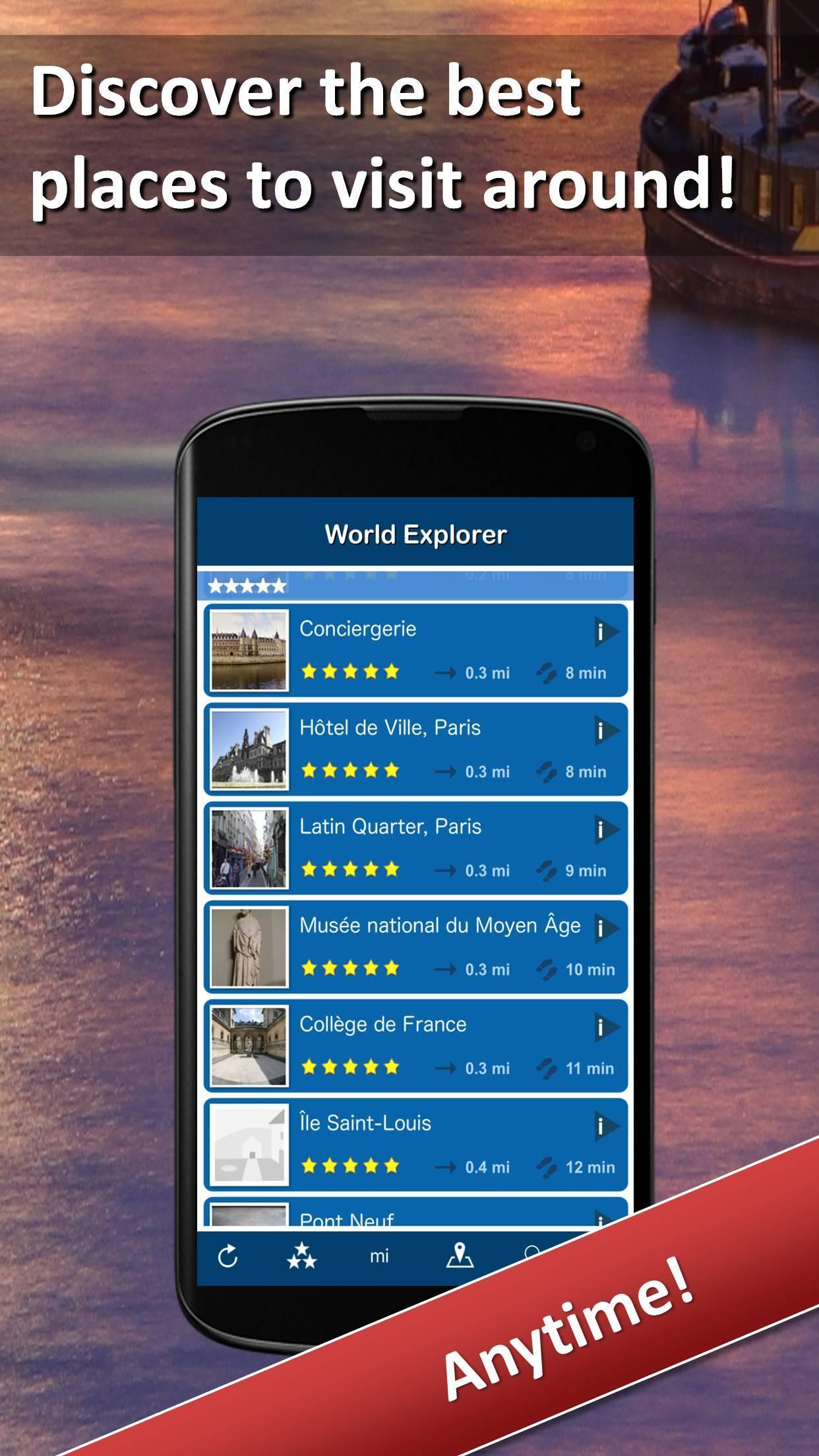 World Explorer - Travel Guide 7 تصوير الشاشة