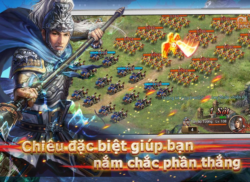 Bá Chủ Tam Quốc – CTXĐ screenshot 14