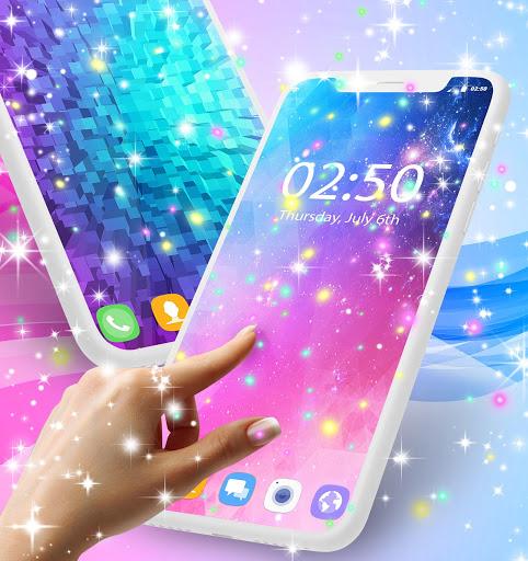 Live wallpaper for Galaxy J7 2 تصوير الشاشة