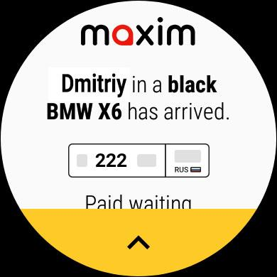 maxim — order taxi, food and groceries delivery screenshot 11
