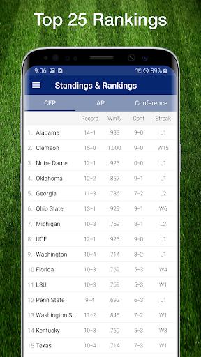 College Football Live Scores, Plays, & Schedules 6 تصوير الشاشة