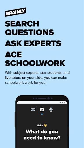 Brainly – Home Learning & Homework Help 1 تصوير الشاشة