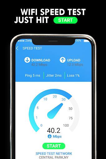 Wifi Password Hacker Prank & SpeedTest Master Lite screenshot 3