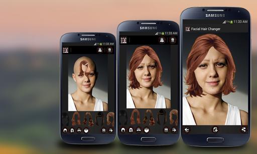 Face Hair Changer Men-Women screenshot 1