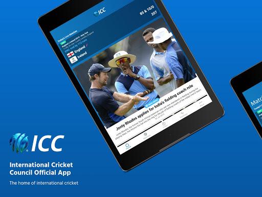 ICC - Live International Cricket Scores & News 9 تصوير الشاشة