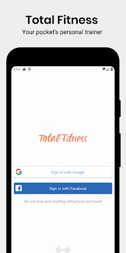 Total Fitness - Home & Gym training screenshot 1