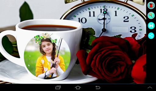 Coffee Cup Photo Frame 7 تصوير الشاشة