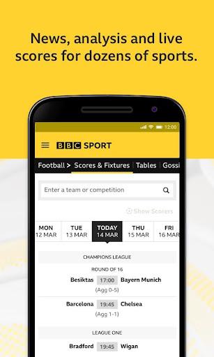 BBC Sport - News & Live Scores 5 تصوير الشاشة