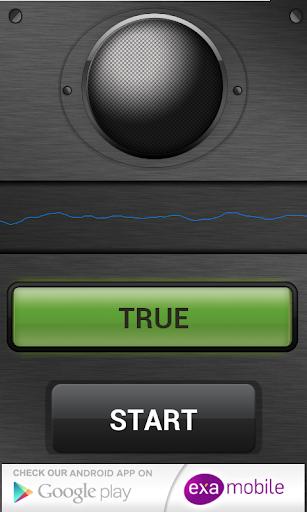 كشف الكذب صوت - مزحة 2 تصوير الشاشة