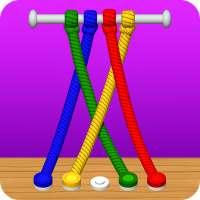 Untangle 3D: Tangle Rope Master - rompecabezas on APKTom