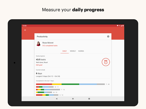 Todoist: To-Do List, Tasks & Reminders screenshot 10