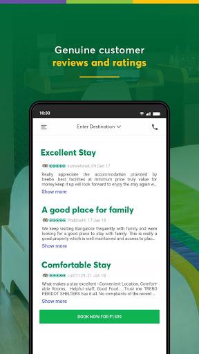 Treebo: Hotel Booking App | Book Safe Stays 8 تصوير الشاشة