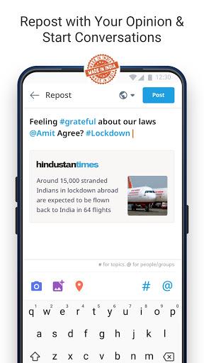 Dailyhunt - 100% Indian App for News & Videos screenshot 7
