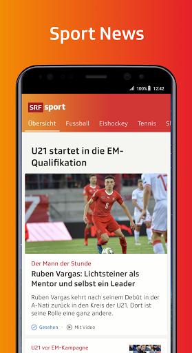 SRF Sport - News, Livestreams, Resultate screenshot 1