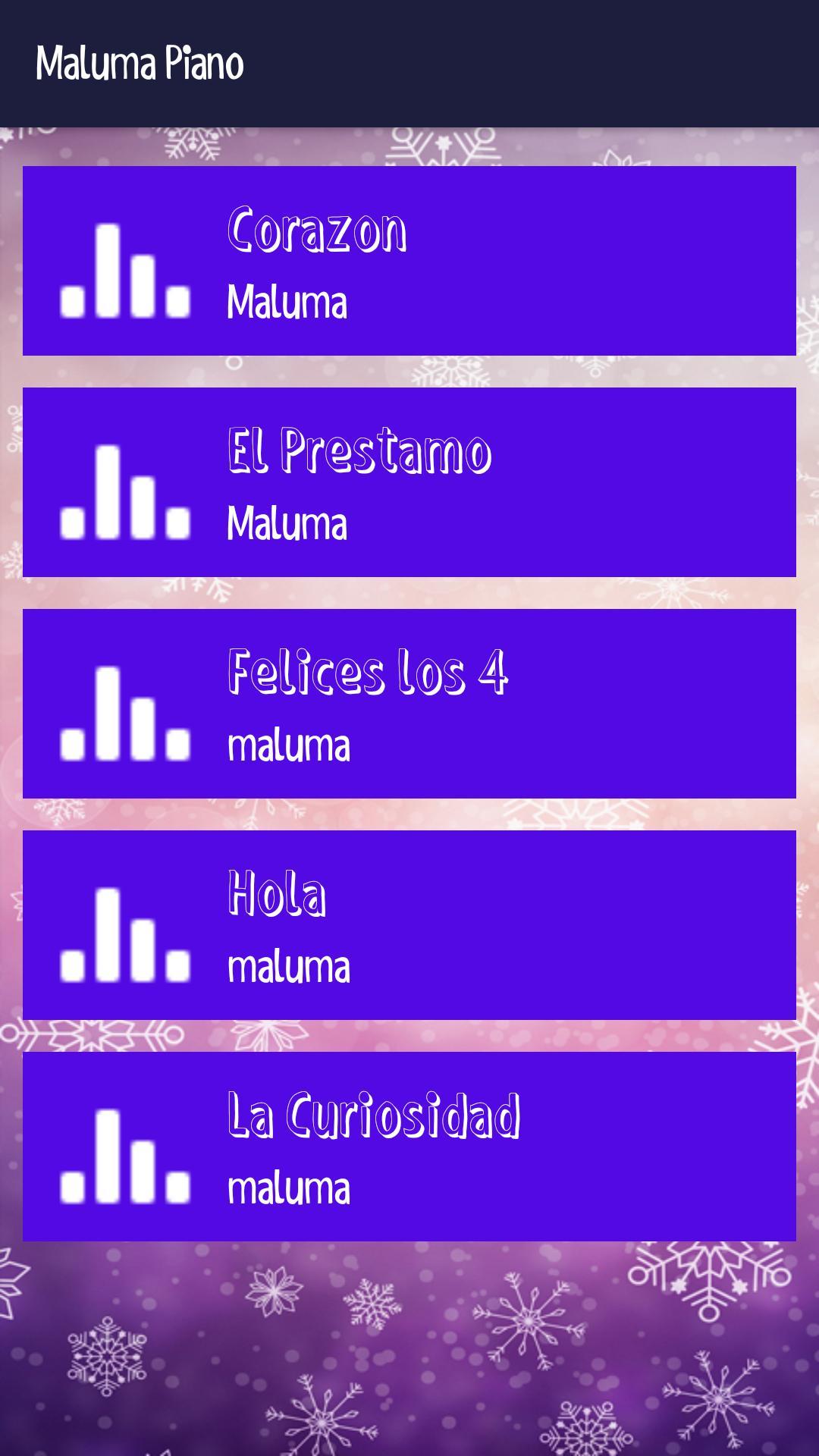Piano Maluma Musica Tiles 4 تصوير الشاشة