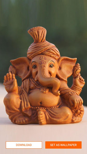 Ganpati Wallpaper - Ganesha, HD screenshot 2