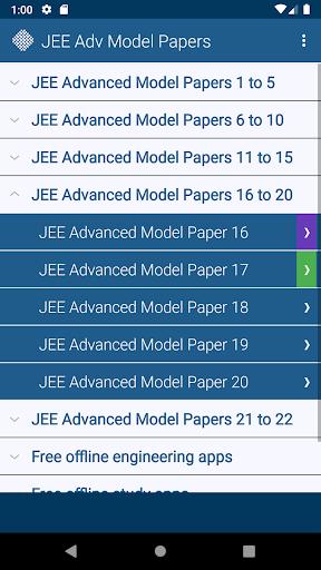 JEE Advanced Model Papers Free screenshot 6