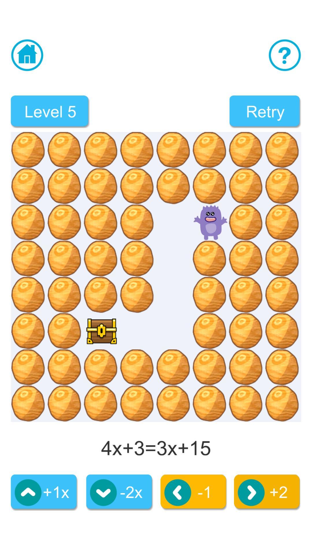 Algebra Maze screenshot 2