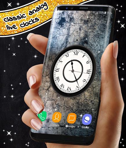 Analog Clock App ❤️ Classic Live Wallpaper Themes screenshot 5