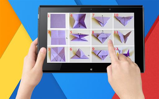 بسيطة اوريغامي دروس 5 تصوير الشاشة