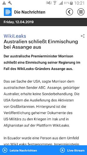 Dlf - Die Nachrichten screenshot 5
