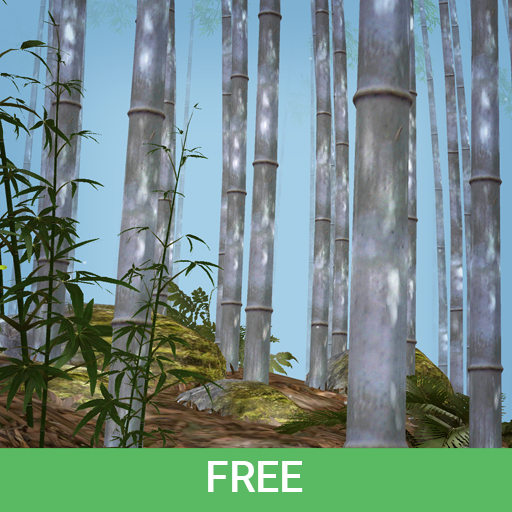 Bamboo Forest 3D Live Wallpaper/Screen Saver Free icon