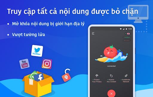 VPN Tomato miễn phí   Điểm truy cập nhanh nhất screenshot 3