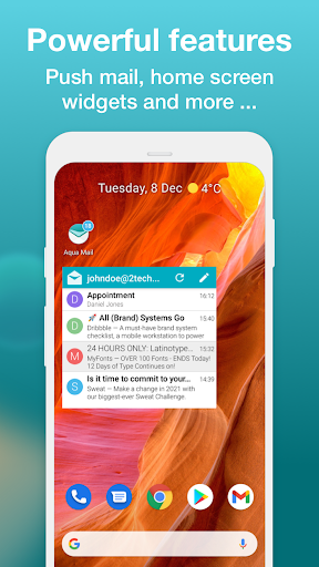 Aqua Mail - Email app for Any Email screenshot 8