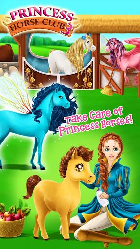 Princess Horse Club 3 - Royal Pony & Unicorn Care screenshot 1