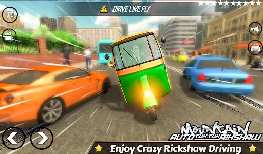 Mountain Auto Tuk Tuk Rickshaw Novos Jogos de 2020 screenshot 4