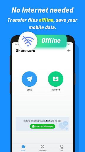 Share Karo Lite - Share & File Transfer, Shareit screenshot 5