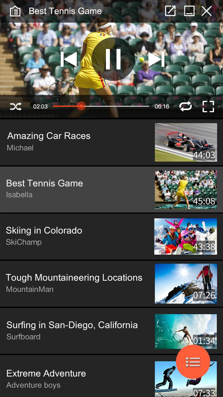 Music Videos Movie Player & Top Songs For YouTube screenshot 4
