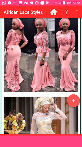AFRICAN LACE STYLES 2021 screenshot 3