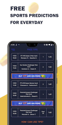BetWin - sports predictions screenshot 1
