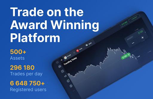 IQ Option – Online Investing Platform 5 تصوير الشاشة