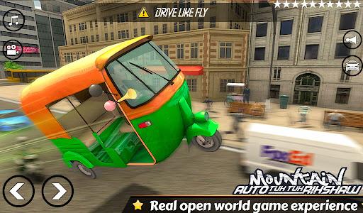 Mountain Auto Tuk Tuk Rickshaw Novos Jogos de 2020 screenshot 3