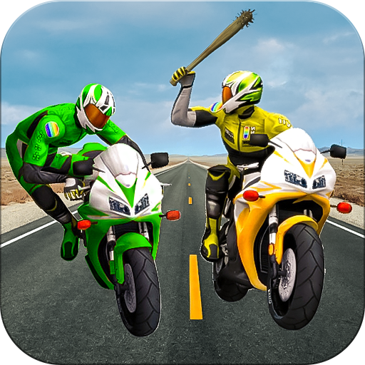 Moto Bike Attack Race 3d games icon