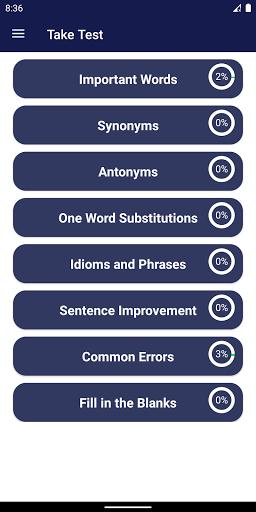 Vocabulary Builder screenshot 1