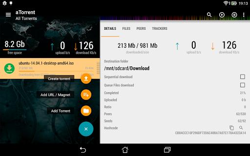 aTorrent - torrent downloader screenshot 13