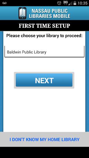 Nassau Public Libraries Mobile 1 تصوير الشاشة