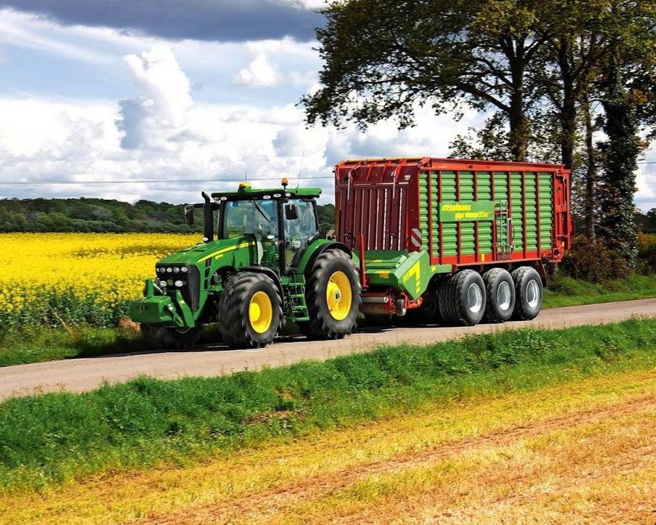 Puzzles Tractor John Deere 5 تصوير الشاشة