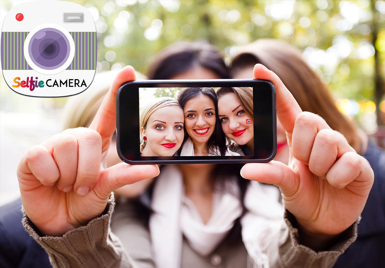 Selfie HD Camera Booth Free screenshot 1