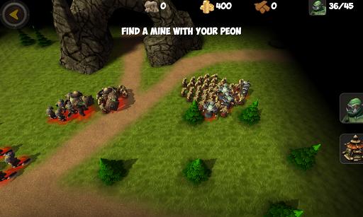 OrcWar Clash RTS screenshot 4