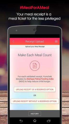 Yumchek - Make Each Meal Count screenshot 3