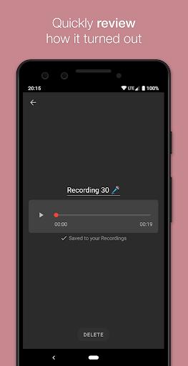 Smart Recorder – High-quality voice recorder screenshot 5